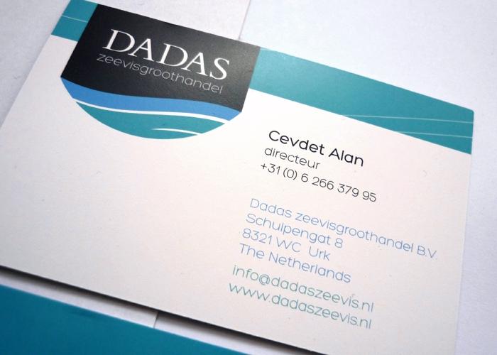 Dadaszeevis visitekaartje