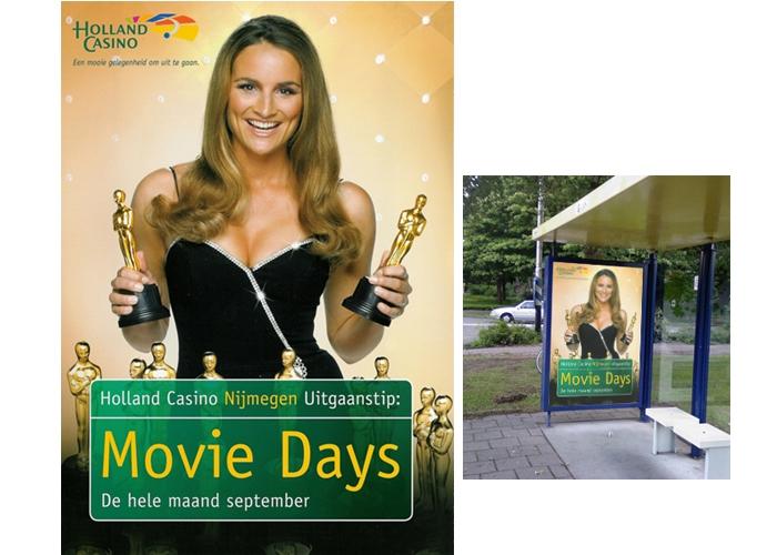 Holland Casino Nijmegen Movie Days campagne beeld