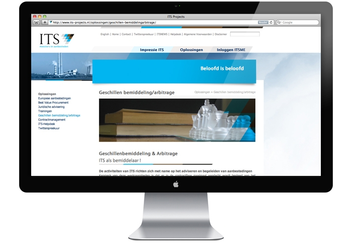 ITS projects website