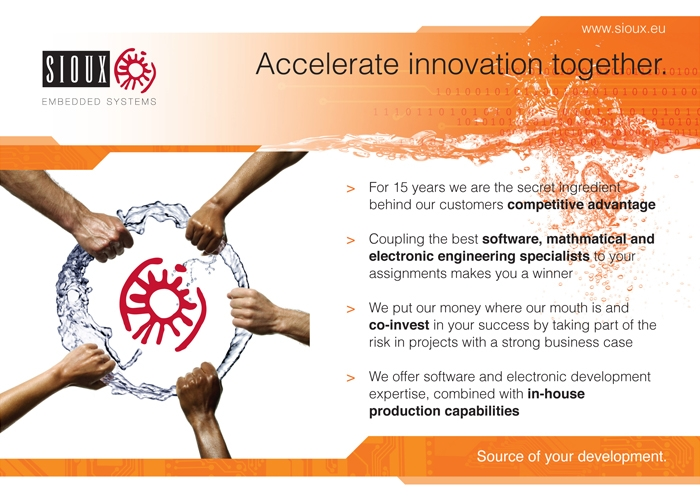 Sioux Embedded Systems advertentie