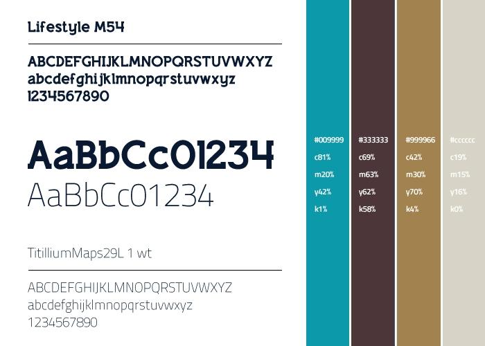 SNPI fonts & kleuren