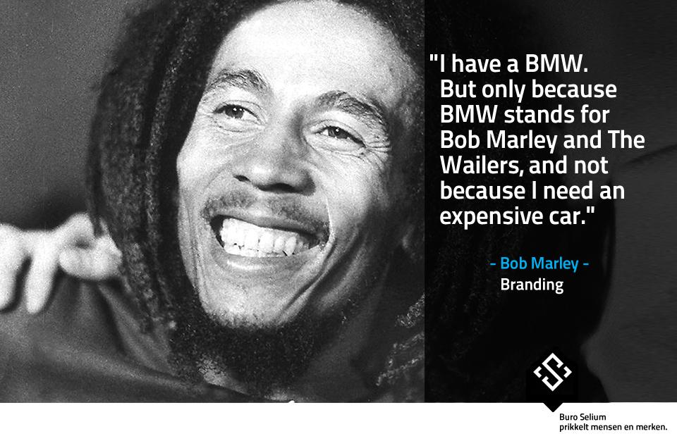 Bob Marley Branding